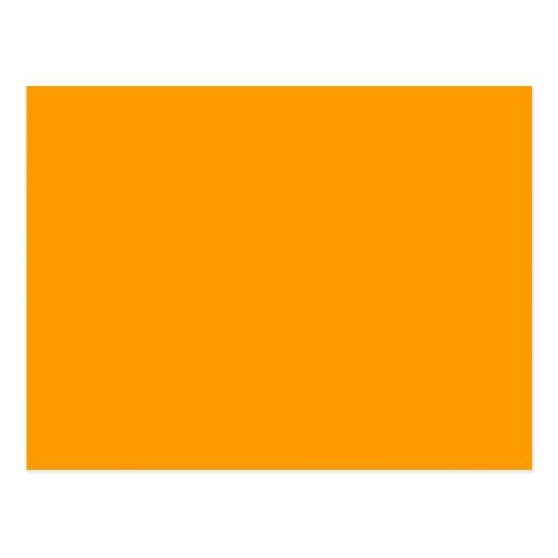 Fondo anaranjado llano postales