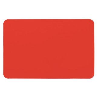 Fondo anaranjado rojo brillante coralino de color  imanes