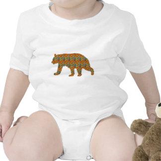 Fondo artístico del oso de Brown por NavinJOSHI Trajes De Bebé