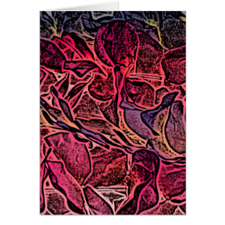 fondo aseado de los leus del rosa del bosquejo felicitación