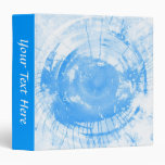 Fondo azul abstracto de la acuarela, textura