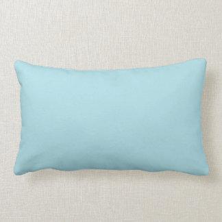 Fondo azul de color sólido de la aguamarina ligera cojines