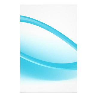 Fondo azul de haz de energía de onda papelería
