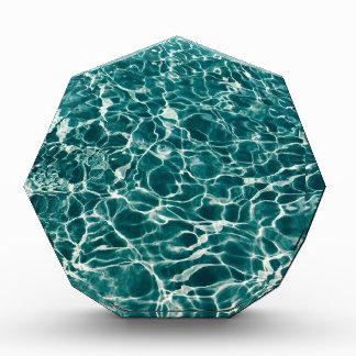 Fondo azul del agua del océano de la aguamarina