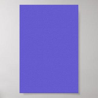 Fondo azul del Cornflower en un poster