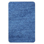 Fondo azul del dril de algodón de Jean Imán Flexible