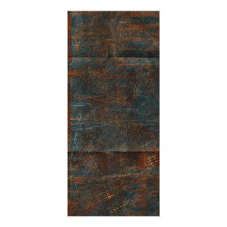 Fondo azul oxidado sucio del paño tarjeta publicitaria personalizada