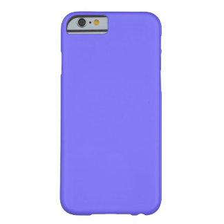 Fondo azul púrpura de la tendencia del color del funda para iPhone 6 barely there