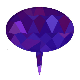 Fondo bajo abstracto púrpura del polígono de la figura de tarta