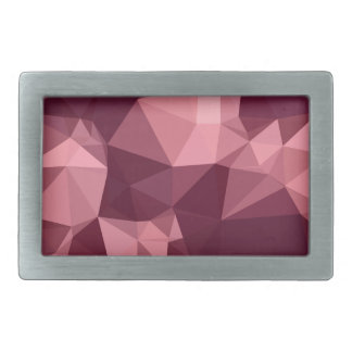 Fondo bajo abstracto púrpura imperial del polígono hebilla cinturon rectangular