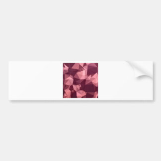 Fondo bajo abstracto púrpura imperial del polígono pegatina para auto