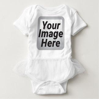Fondo bajo abstracto rojo del polígono de la body para bebé