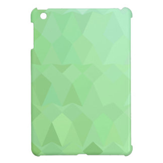 Fondo bajo abstracto verde del polígono del ajenjo
