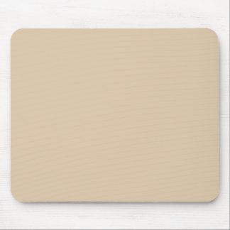 Fondo beige del color sólido de la piel neutral de tapetes de ratón