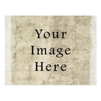Fondo beige del papel de pergamino del yeso del vi tarjetas postales