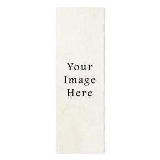 Fondo blanco de papel de pergamino de los 1850s de tarjetas de visita mini