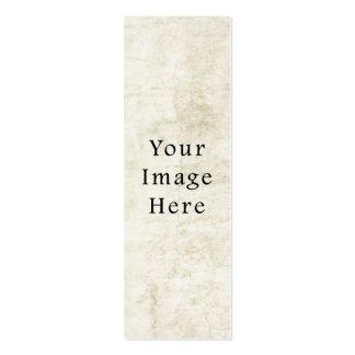 Fondo blanco de papel de pergamino del yeso del vi tarjetas de visita mini