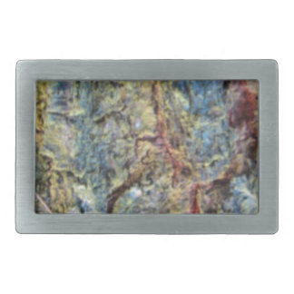 Fondo borroso de la textura de la corteza del hebilla cinturón rectangular