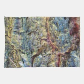 Fondo borroso de la textura de la corteza del toallas