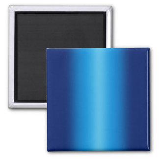 Fondo brillante de los azules imán cuadrado