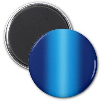 Fondo brillante de los azules imán redondo 5 cm