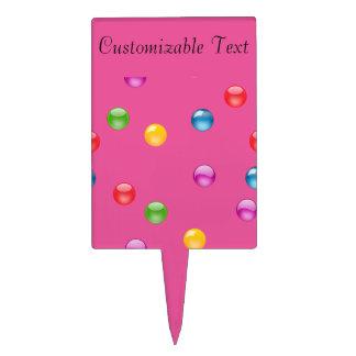 Fondo brillante multicolor del confeti DIY de Palillos De Tarta