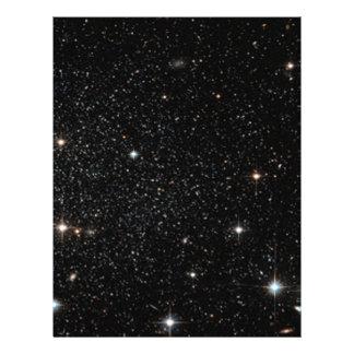 """Fondo - cielo nocturno y estrellas folleto 8.5"""" x 11"""""""