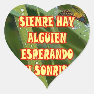 FONDO COLOR 13.01 HEART STICKER