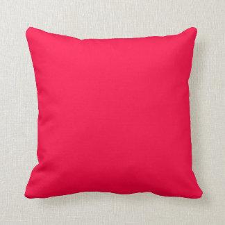 Fondo color de rosa americano cojín