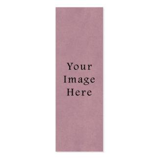 Fondo color de rosa púrpura del papel de pergamino tarjetas de visita mini