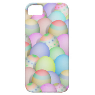 Fondo coloreado de los huevos de Pascua Funda Para iPhone SE/5/5s