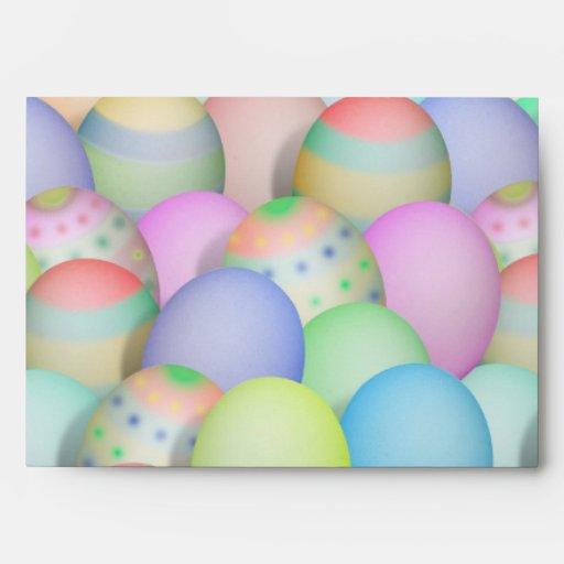 Fondo coloreado de los huevos de Pascua