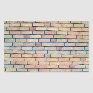 Fondo coloreado multi de la pared de ladrillo rectangular altavoces