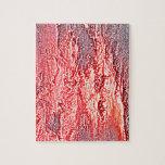 fondo coloreado rosa rojo abstracto de la puesta rompecabezas