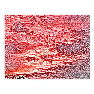 fondo coloreado rosa rojo abstracto de la puesta postales