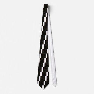 Fondo colorido abstracto corbata
