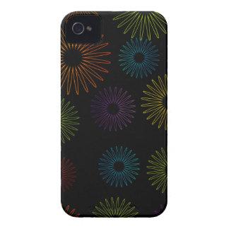 Fondo colorido abstracto iPhone 4 protector