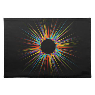 Fondo colorido abstracto mantel individual