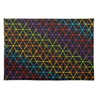 Fondo colorido abstracto manteles
