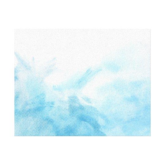 fondo colorido de la acuarela para su impresión en lienzo