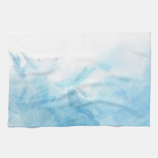 fondo colorido de la acuarela para su toalla de cocina