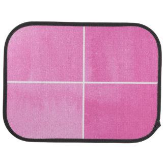 fondo colorido de la acuarela para sus 2 alfombrilla de auto