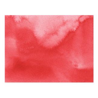 fondo colorido de la acuarela para sus 3 tarjeta postal