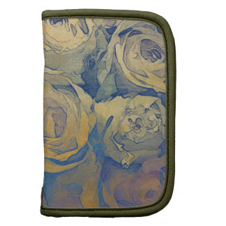 fondo colorido del vintage floral del arte planificadores