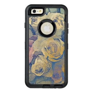 fondo colorido del vintage floral del arte funda otterbox para iPhone 6/6s plus