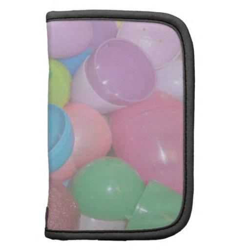 fondo colorido plástico del pastel de los huevos d planificador
