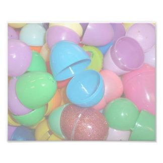 fondo colorido plástico del pastel de los huevos d fotografías