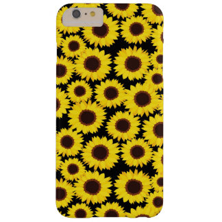Fondo con los girasoles funda de iPhone 6 plus barely there