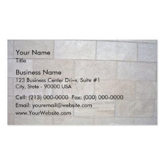 Fondo concreto de la pared de ladrillo tarjetas personales