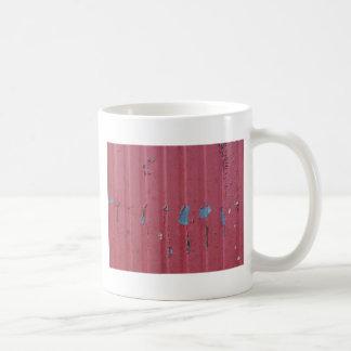 Fondo de acero acanalado del grunge del vintage tazas de café